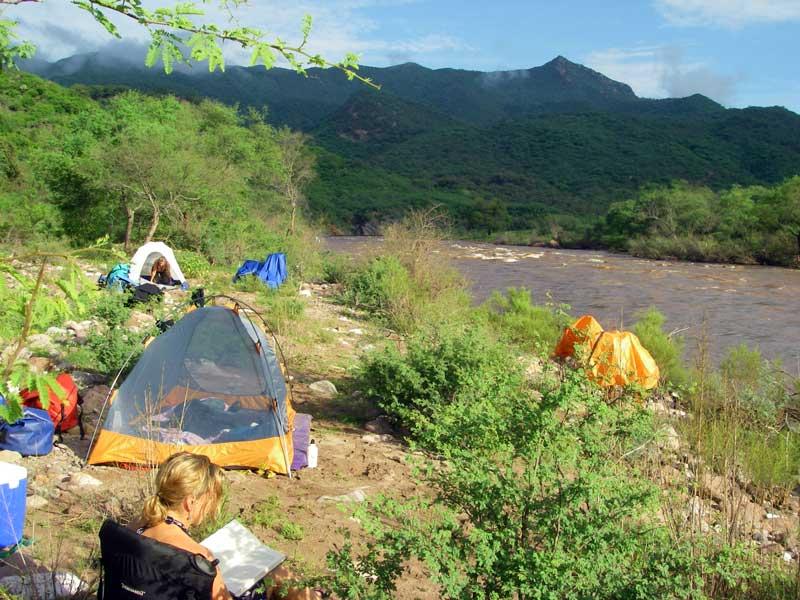 Camping on the Mulatos