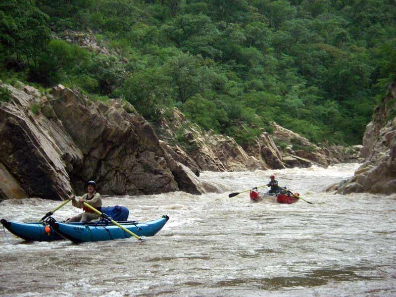 Downstream of Dos Mas