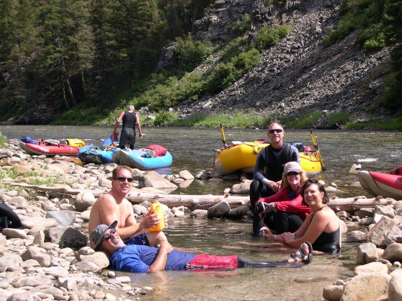 Hot Springs on the Middle Fork Salmon