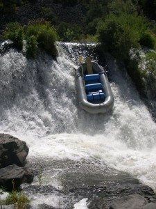 Ghost Boating Slide at Pit Falls