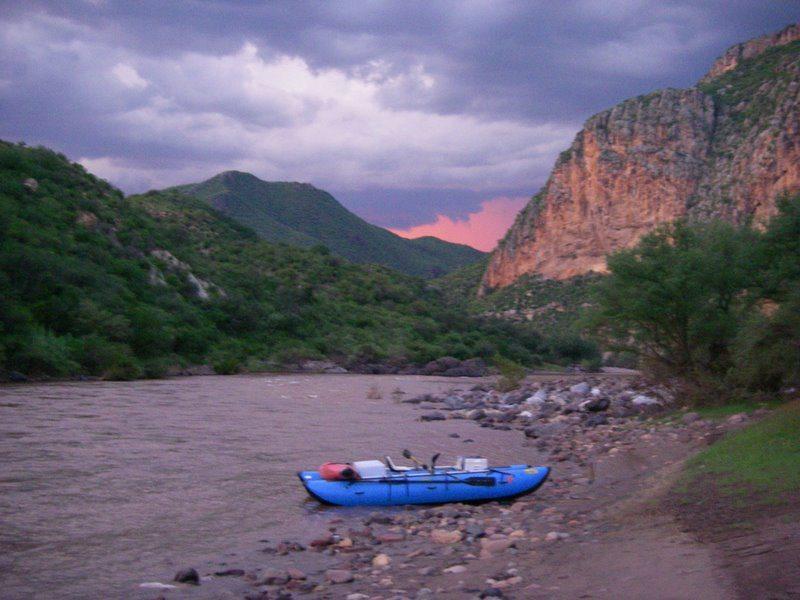 Sunset Rio Mulatos