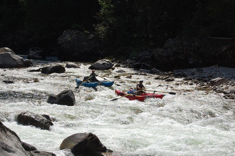 Ladle Rapid on the Selway