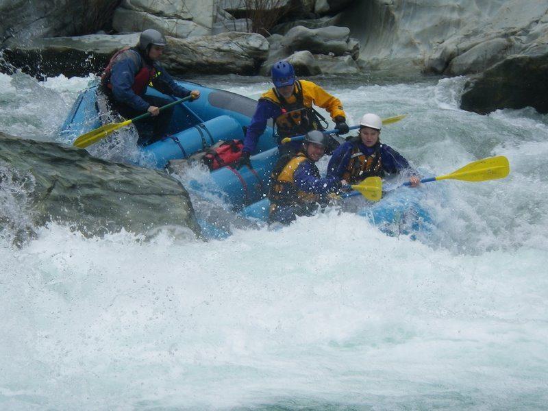 Paddle Raft in Bogus Thunder