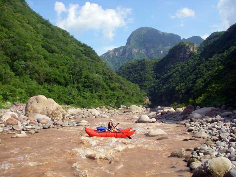 Rio Baluarte near Mazatlan