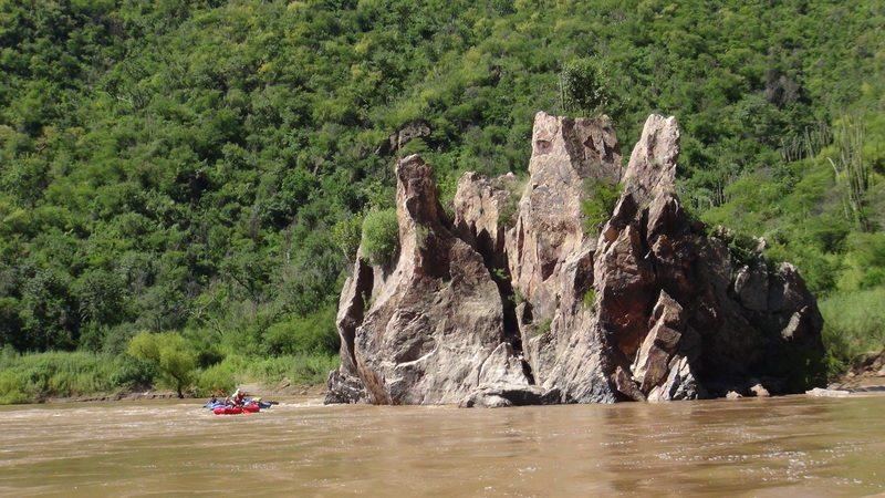 Scenery on the Rio Aros