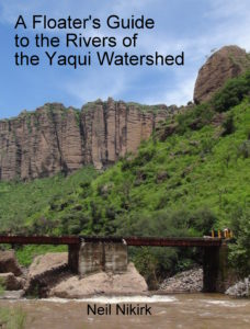 Book Cover: A Floater's Guide to the Rivers of the Yaqui Watershed