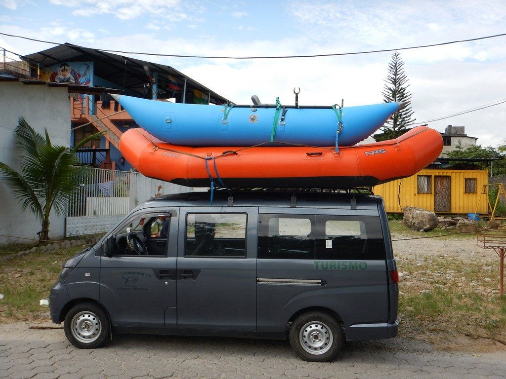 Works really well on rafting shuttles