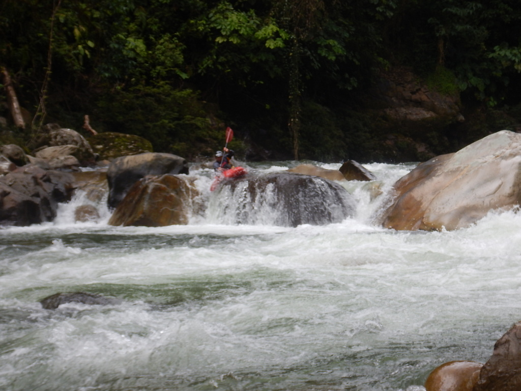 Boof on the Rio Jondachi